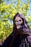 Śmierć - kościec fotografia royalty free