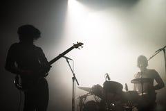 Śmierć Nad Od 1979 punk rock zespołu w koncercie przy Primavera dźwiękiem 2015 Zdjęcia Royalty Free