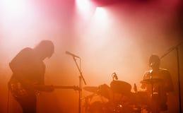 Śmierć Nad Od 1979 punk rock zespołu w koncercie przy Primavera dźwiękiem 2015 Zdjęcia Stock