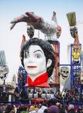 Śmierć wystrzału piosenkarz Michael Jackson obraz royalty free