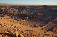 Śmiertelna dolina, Atacama pustynia, Chile zdjęcia stock