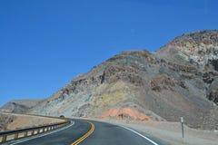 Śmiertelna Dolinna parka narodowego i śmierci doliny droga Fotografia Royalty Free