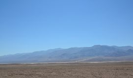 Śmiertelna Dolinna parka narodowego i śmierci doliny droga zdjęcia royalty free