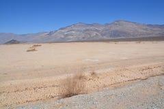Śmiertelna Dolinna parka narodowego i śmierci doliny droga Obrazy Royalty Free