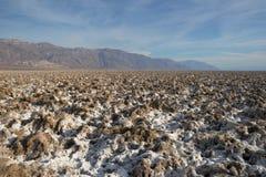 śmiertelna lejni park narodowy soli dolina obraz royalty free