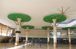 Śmiertelnie b w Punta Cana lotnisku międzynarodowym Zdjęcie Stock