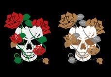 Śmiertelny kwiat ilustracja wektor