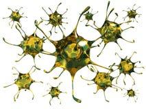 Śmiertelny wirus ilustracja wektor