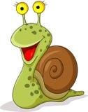 Śmieszna ślimaczek kreskówka Zdjęcia Royalty Free
