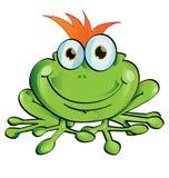 Śmieszna żaba Fotografia Royalty Free