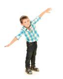 Śmieszna chłopiec zdjęcie stock