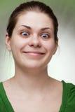 śmieszna kobieta obrazy royalty free