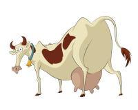 Śmieszna krowa Fotografia Stock
