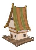 Śmieszna Mała Domowa kreskówka Zdjęcia Royalty Free