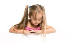 Śmieszna mała dziewczynka Zdjęcie Royalty Free