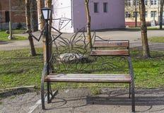 Śmieszna parkowa rzeźba Zdjęcia Royalty Free