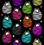 Śmieszni koty Fotografia Royalty Free