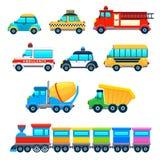Śmieszni pojazdy royalty ilustracja