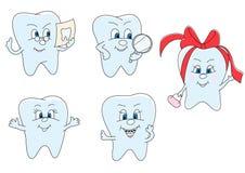 śmieszni zęby Obraz Royalty Free