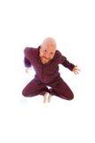 Śmieszny łysy mężczyzna Zdjęcia Royalty Free