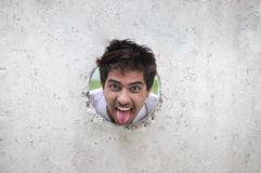 śmieszny chłopiec hindus Fotografia Stock