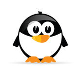 Śmieszny i słodki pingwinu wektor Zdjęcie Royalty Free