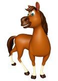 śmieszny Koński postać z kreskówki Obraz Stock