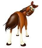 śmieszny Koński postać z kreskówki Zdjęcie Royalty Free