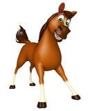 śmieszny Koński postać z kreskówki Zdjęcia Royalty Free