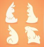 Śmieszny królik royalty ilustracja