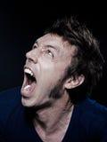 śmieszny mężczyzna portreta target4706_0_ Fotografia Royalty Free