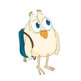 Śmieszny mały ptak Obrazy Royalty Free
