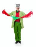 Śmieszny magik Zdjęcie Royalty Free