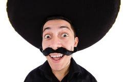 Śmieszny meksykanin zdjęcia royalty free