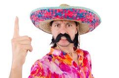 Śmieszny meksykanin obrazy stock