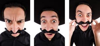 Śmieszny meksykanin z sombrero kapeluszem obrazy royalty free
