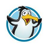 śmieszny pingwin Fotografia Royalty Free