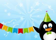 śmieszny pingwin Zdjęcie Royalty Free