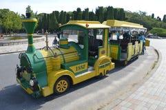 Śmieszny pociąg W Osaka parku Japonia Fotografia Royalty Free