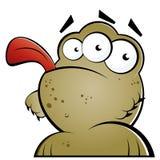 śmieszny potwór royalty ilustracja
