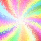Śmieszny radosny szpotawy kolorowy promienia tło ilustracji