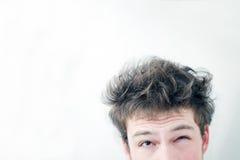 Ishhh… upaćkani włosy! Zdjęcia Royalty Free