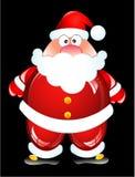 śmieszny Santa ilustracji