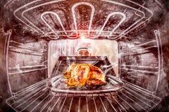 Śmieszny szef kuchni zdumiony i gniewny Nieudacznik jest przeznaczeniem! zdjęcie stock