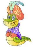 śmieszny wąż Zdjęcie Royalty Free