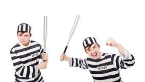 Śmieszny więźniarski więzień w pojęciu Zdjęcia Stock