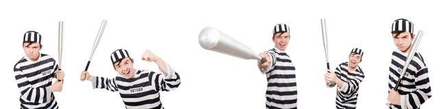 Śmieszny więźniarski więzień w pojęciu Fotografia Stock