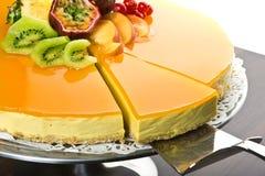 Śmietanka świeży tort Fotografia Royalty Free