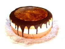 Śmietanka czekoladowy tort obraz royalty free