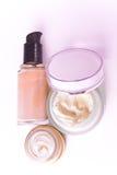 śmietanki makeup obraz stock